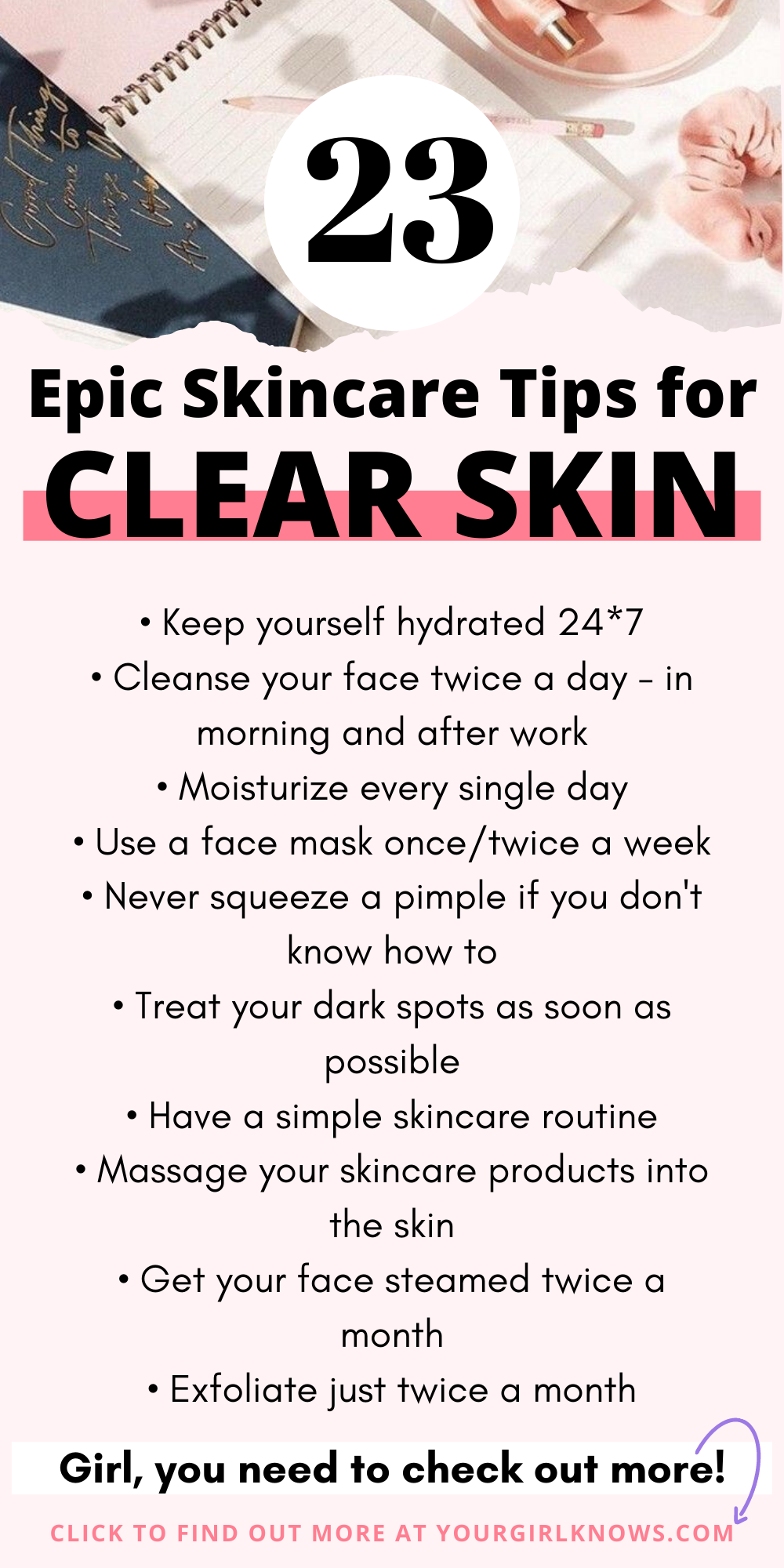 9 BEST SKINCARE TIPS FOR ACNE - YOUR GIRL KNOWS  Skin care