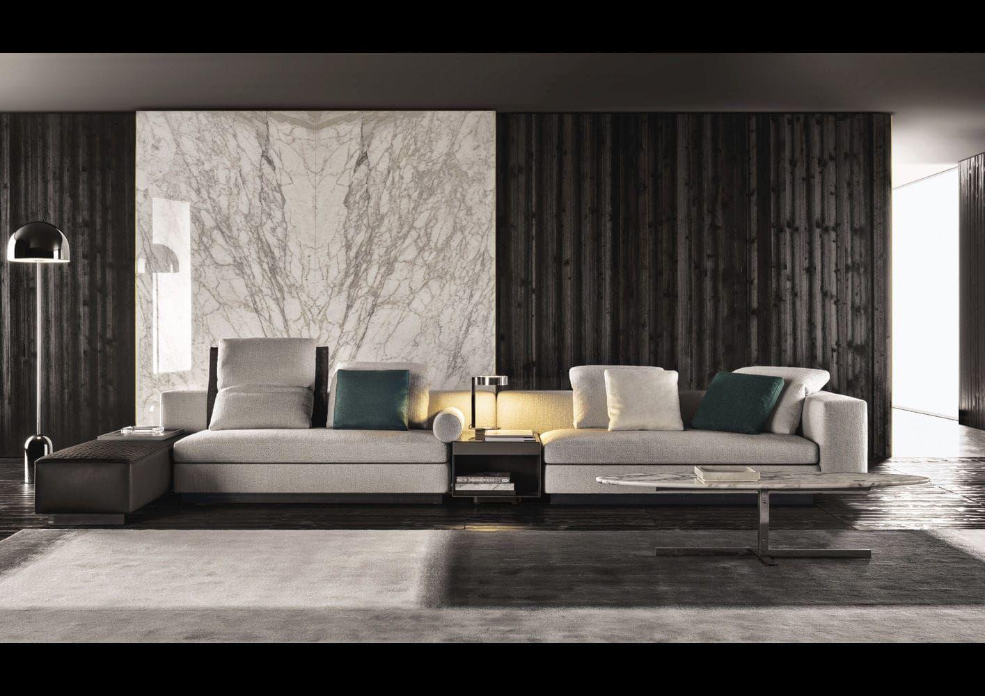 Modular Living Room Furniture Modular Sofa Contemporary Fabric By Rodolfo Dordoni Yang