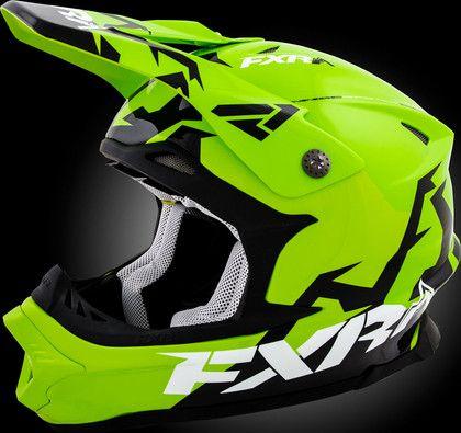 Blade Helmet - Motocross Gear, Snowmobile Apparel, Racing Jackets - FXR Racing
