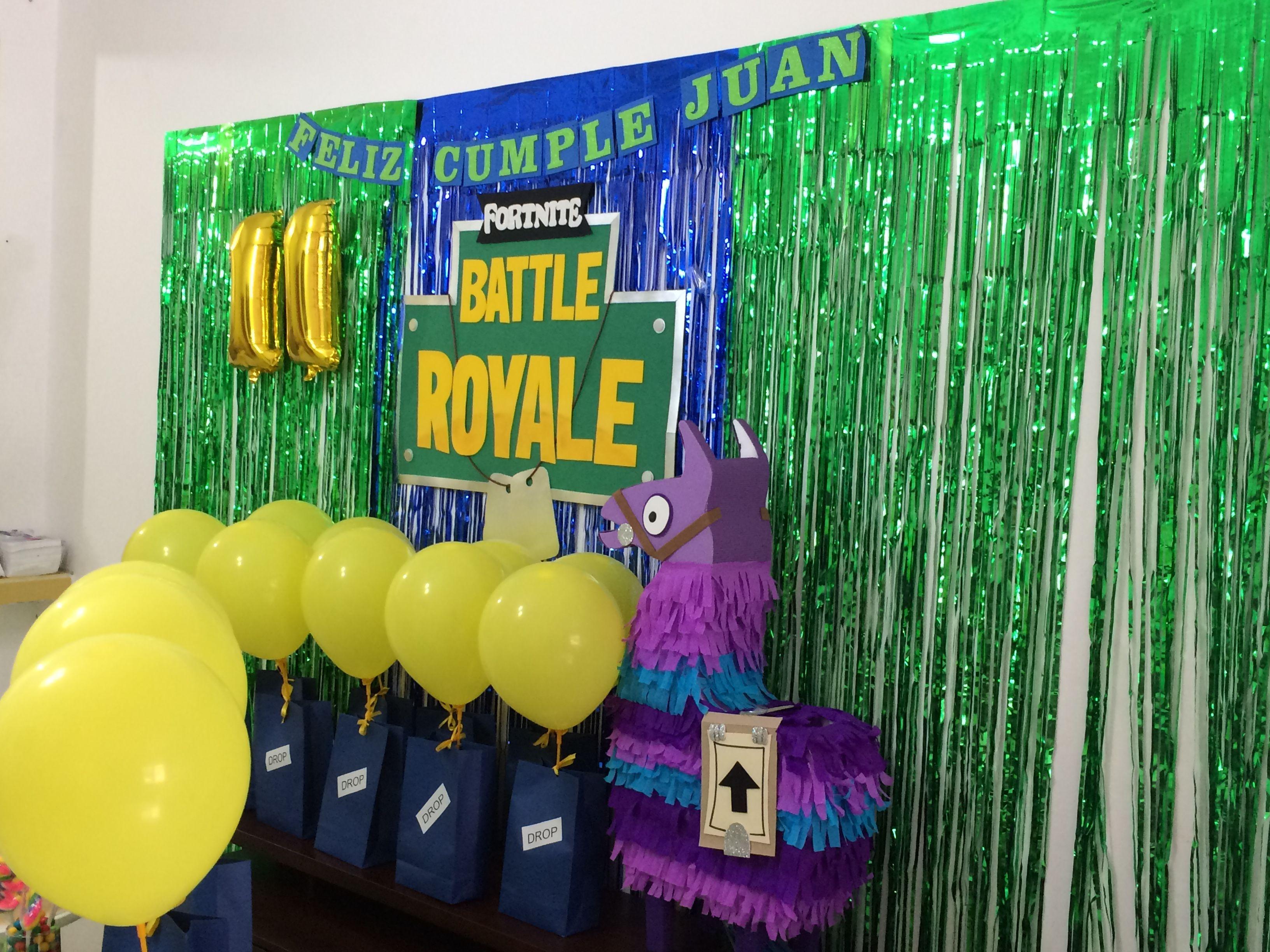 Fortnite Party Cumpleaños De Muchacho Planificación De Fiesta Cumpleaños De Gemelos