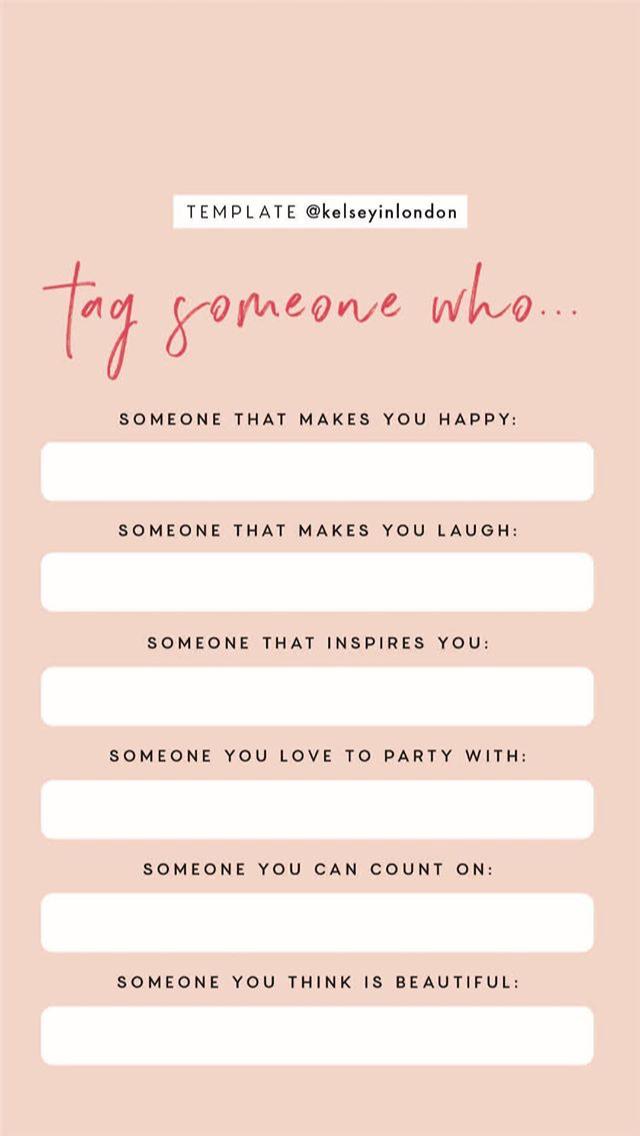 Instagram Story Templates Free Instagram Story Games And Templates Instagram Story Template Instagram Story Instagram Questions