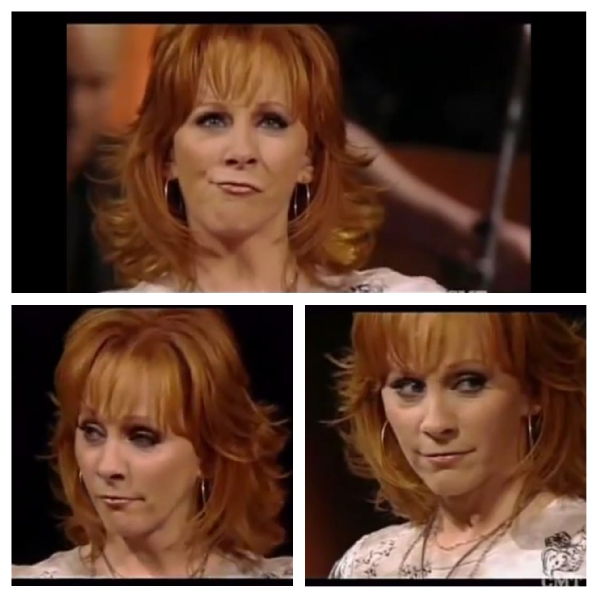 She Gets So Into The Song When She Sings Does He Love You Reba Reba Mcentire Country Singers Songs