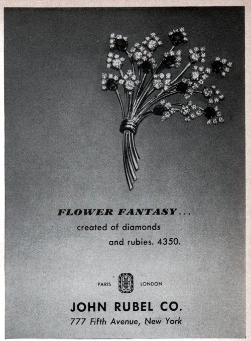 Publicite John Rubel Pour Le Magasin De New York 777 Fifth