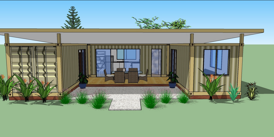 Single Story Shipping Container Homes Modular House