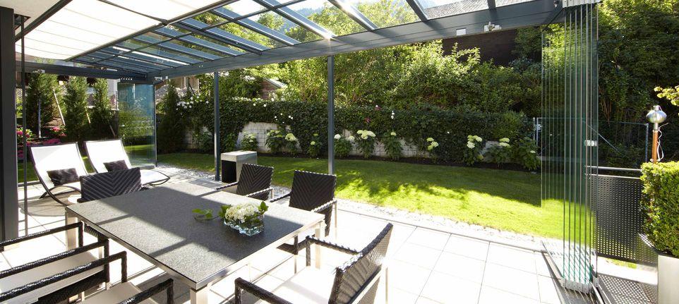 Terrassendach Hamburg überdachung atrium glashaus für freisitz terrasse