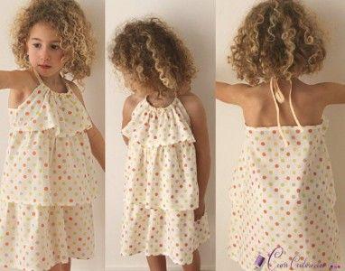 Patron de robe facile pour petite fille