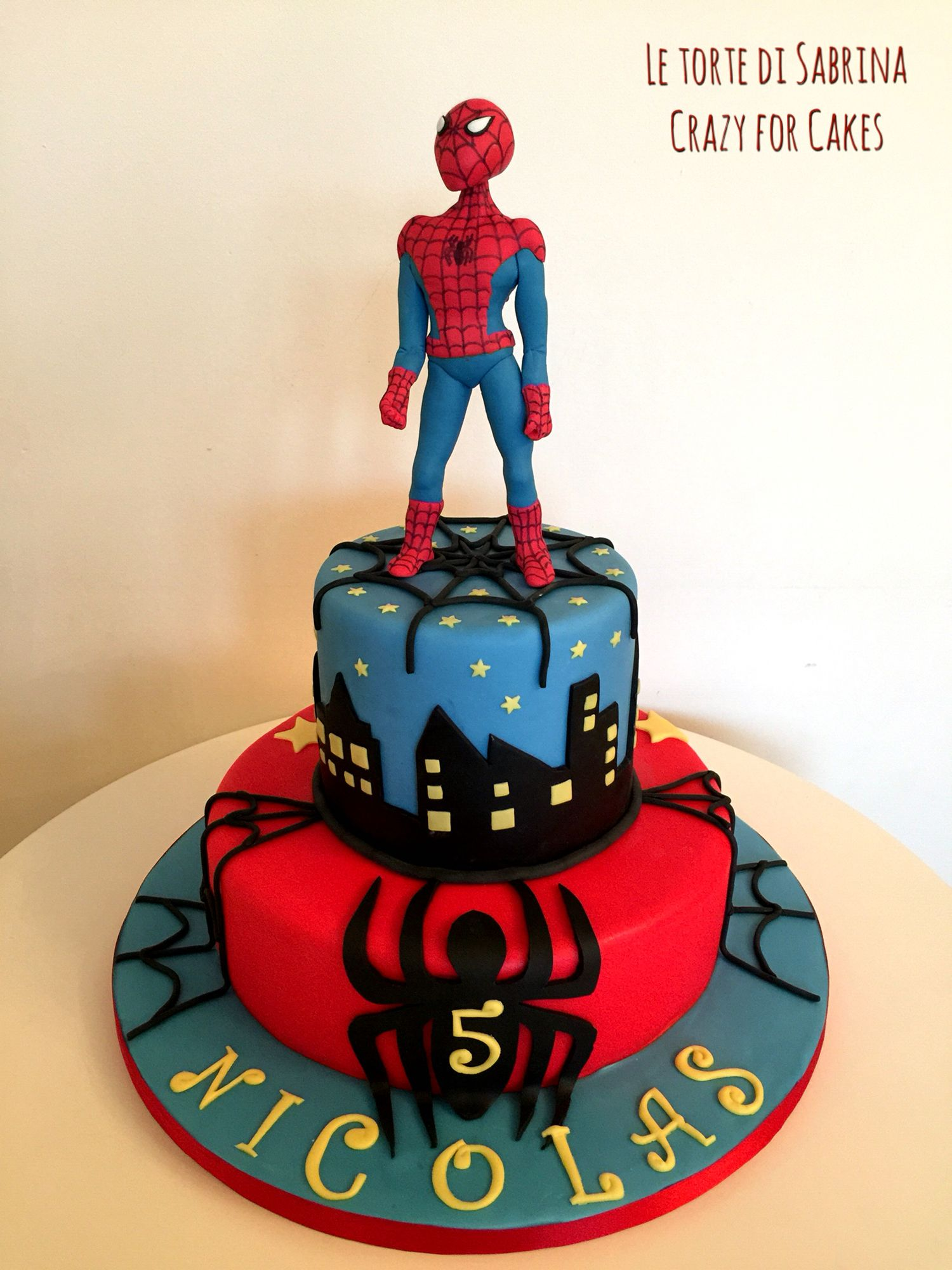 torta di compleanno spiderman spidermancake le mie torte pinterest spiderman. Black Bedroom Furniture Sets. Home Design Ideas