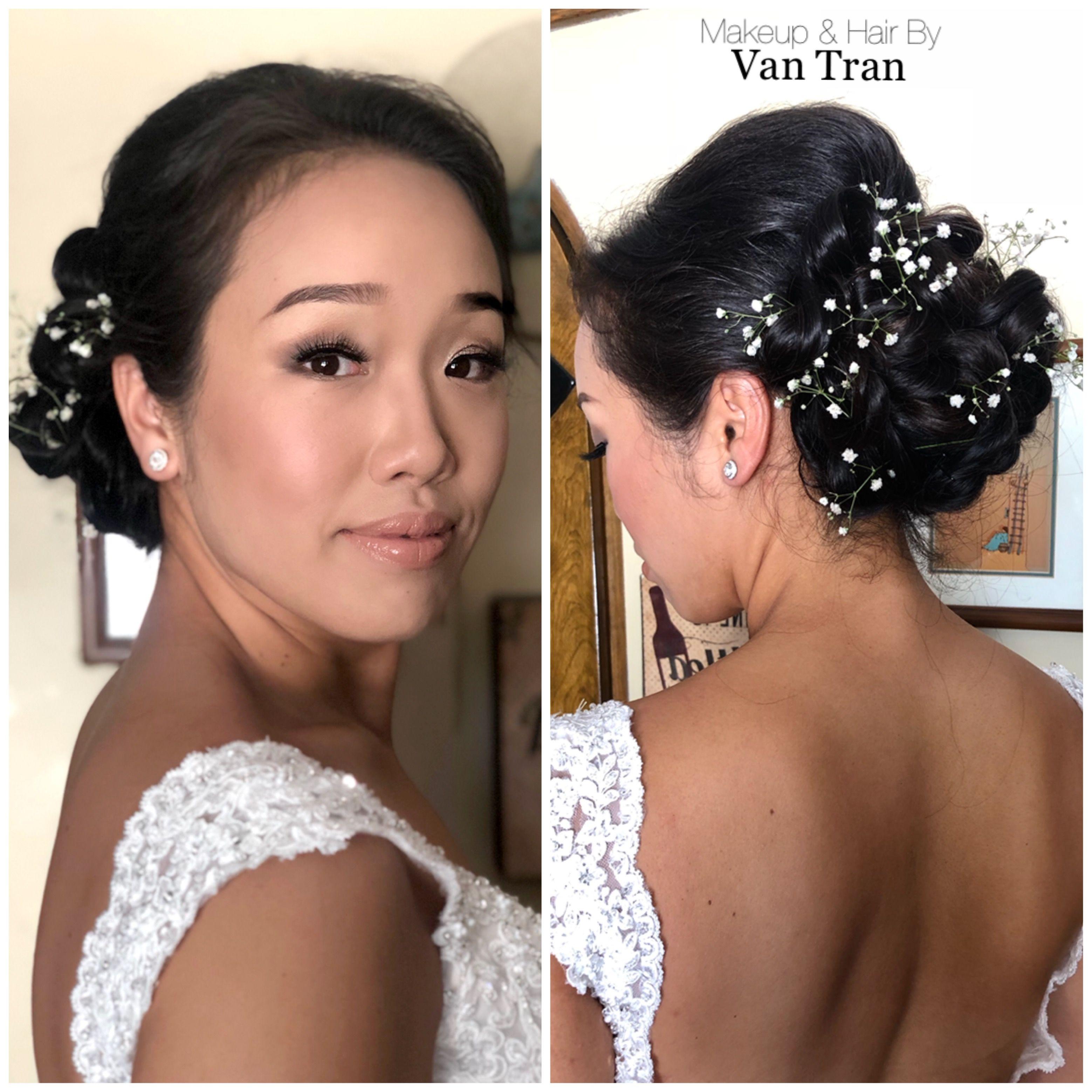 Bridal hair & makeup By Van Tran vantran sandiegomakeup