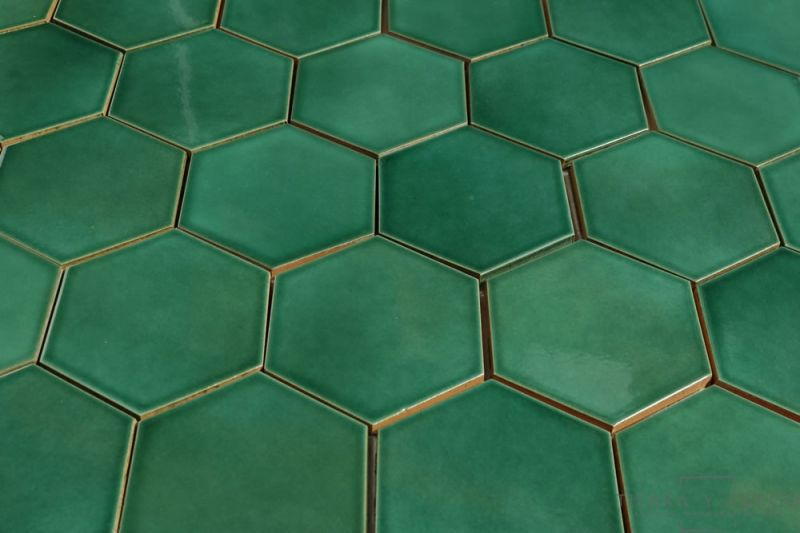 Mexican Ceramic Tile Green Verde