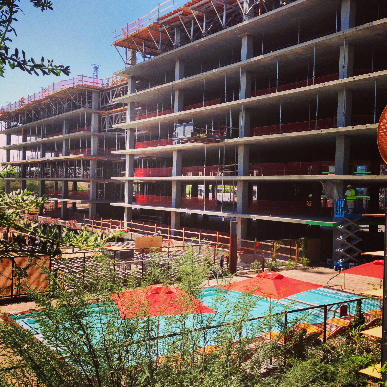 Optima Sonoran Apartment Project. Scottsdale Az