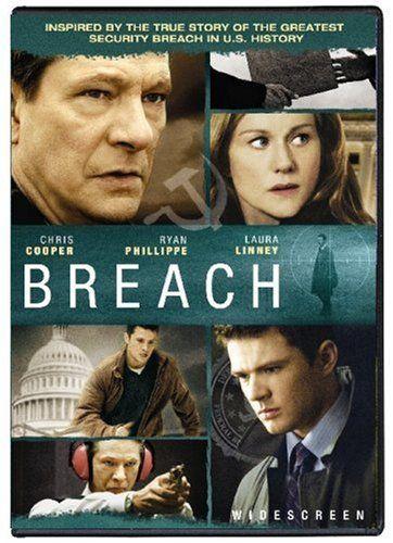 Amazon Com Breach Widescreen Edition Chris Cooper Ryan Phillippe Laura Linney Dennis Haysbert Gary Cole Br Suspense Movies Amazon Instant Video Movies