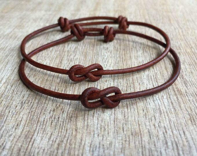 north venice set brown couples bracelet his and her