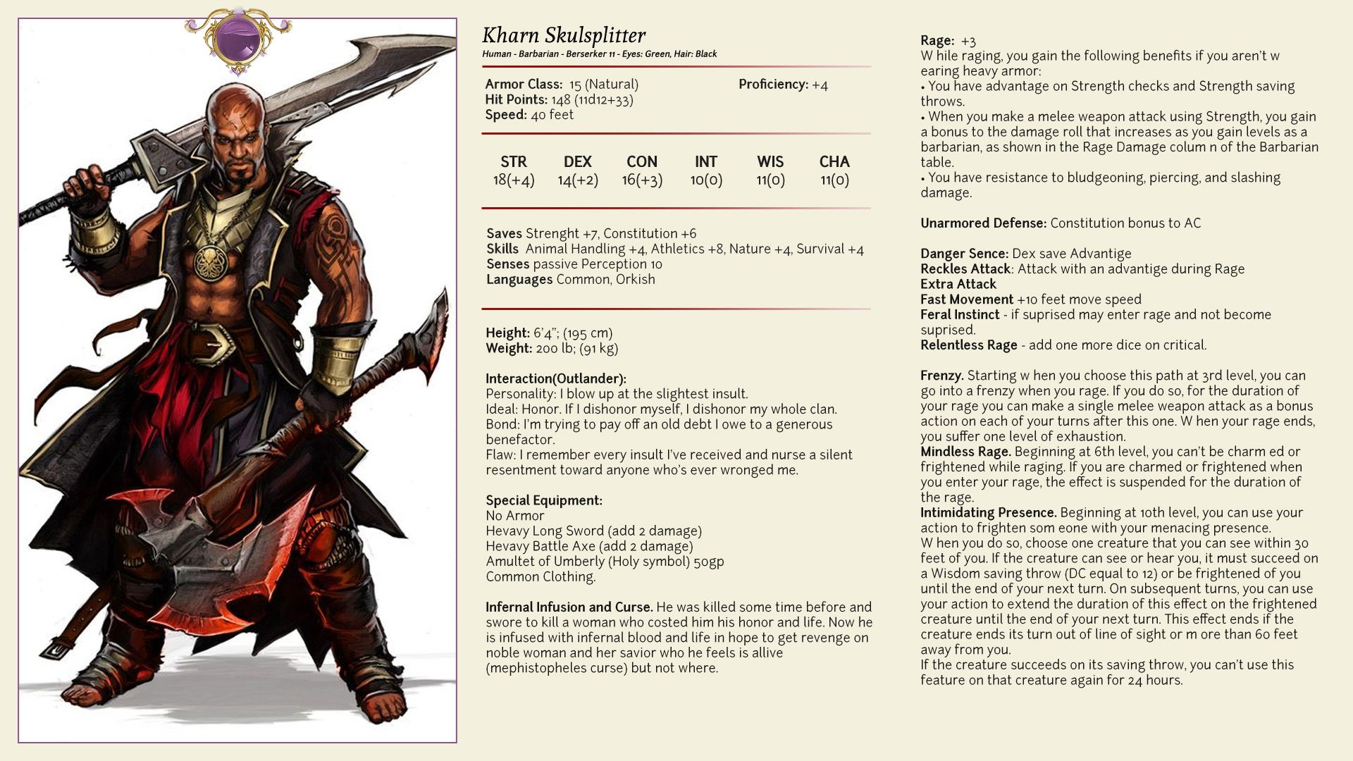 Pin by David Curp on D&D 5e NPCs in 2019 | Dungeons, dragons