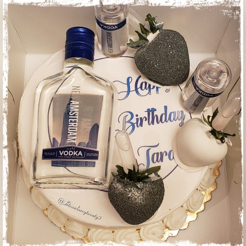 Pleasant Amsterdam Vodka Infused Cake With Images Birthday Cake Vodka Funny Birthday Cards Online Alyptdamsfinfo