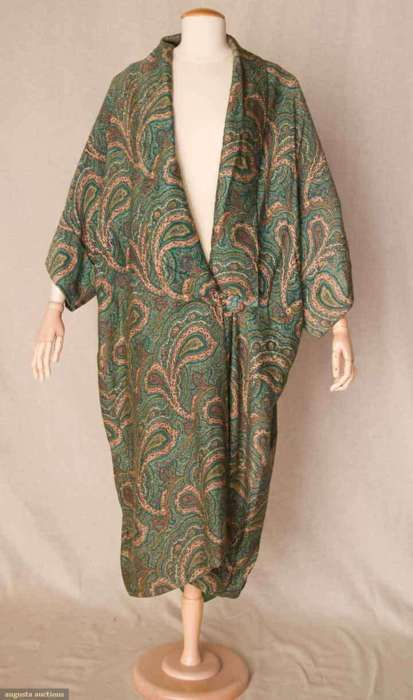 Evening coat ca. 1910-1912 via Augusta Auctions
