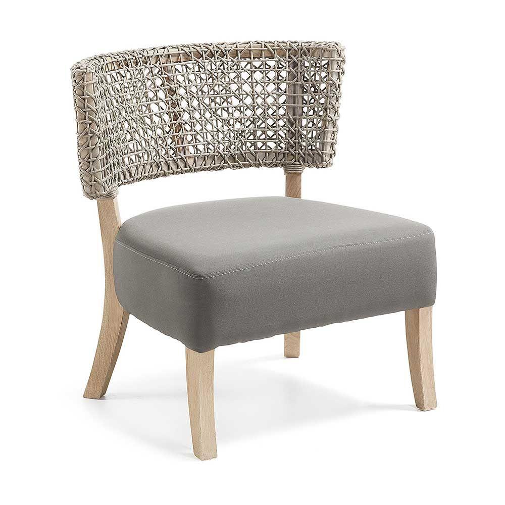 Faszinierend Esstisch Stühle Beige Dekoration Von Esszimmerstuhl Aus Teak Massivholz Kordelgeflecht Jetzt Bestellen