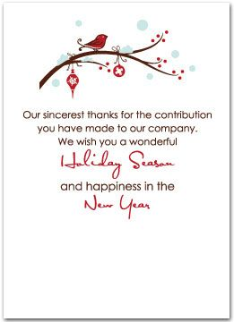 Employee Holiday Cards Employee Christmas Cards Employee Employees Christmas Thanksgiving Messages Christmas Card Messages