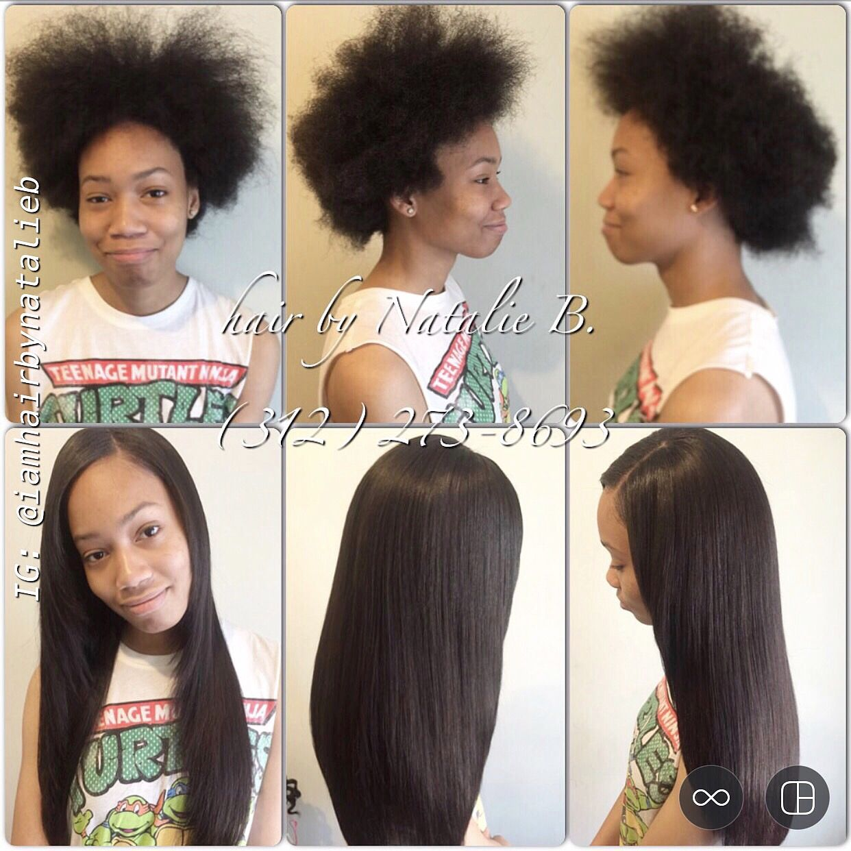 Traditional sew in hair weave by natalie b client has natural traditional sew in hair weave by natalie b client has natural hair pmusecretfo Images