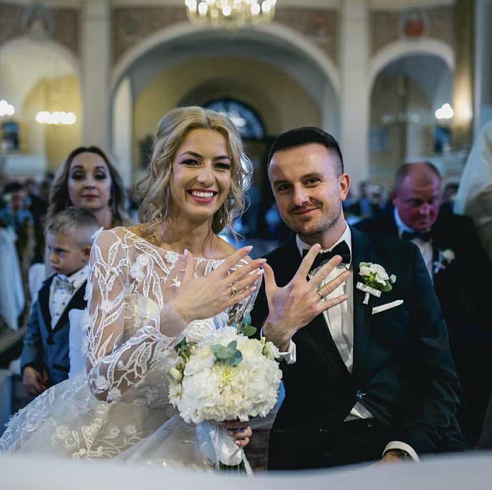 Real Bride In Wedding Dress By Victoria Soprano Model