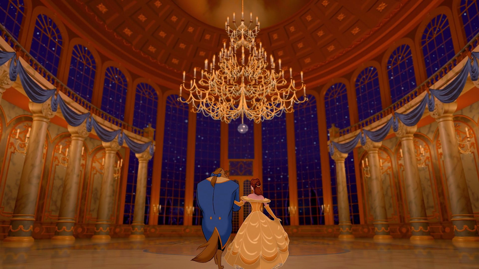 The Ballroom With Images Disney Beauty And The Beast Beauty