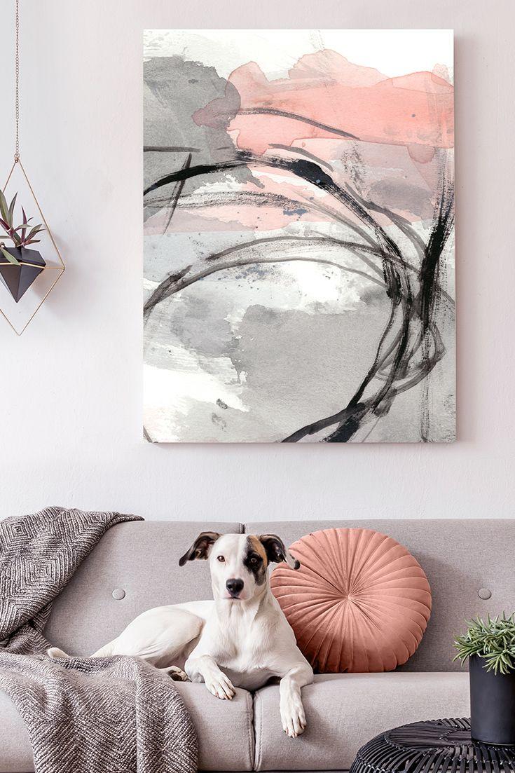 Leinwandbild - Um die Ecke II © Ethan Harper (World Art Group) #wandbild #abstrakt #wohnzimmer #interior #design