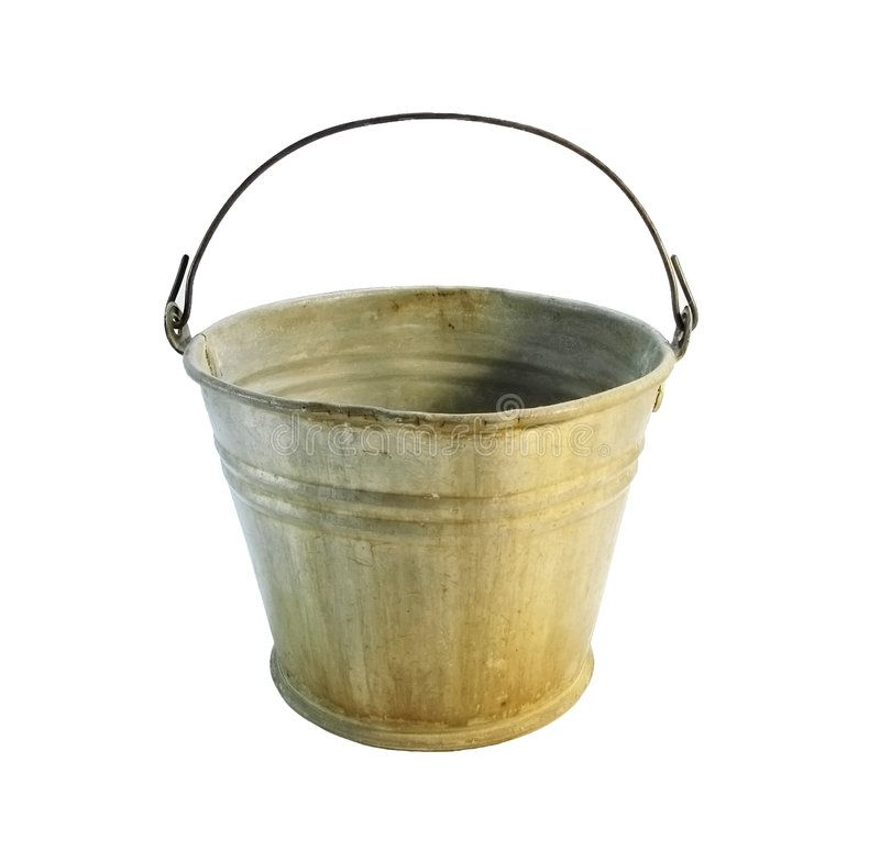 Image result for old bucket