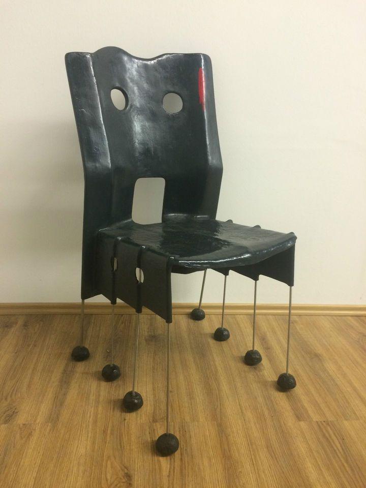 Gaetano Pesce Greene Street Chair Vorproduktion vor Vitra Erste Serie LUX366