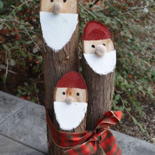 Adornos de madera para navidad adornos navide os en for Decoracion christmas navidenos