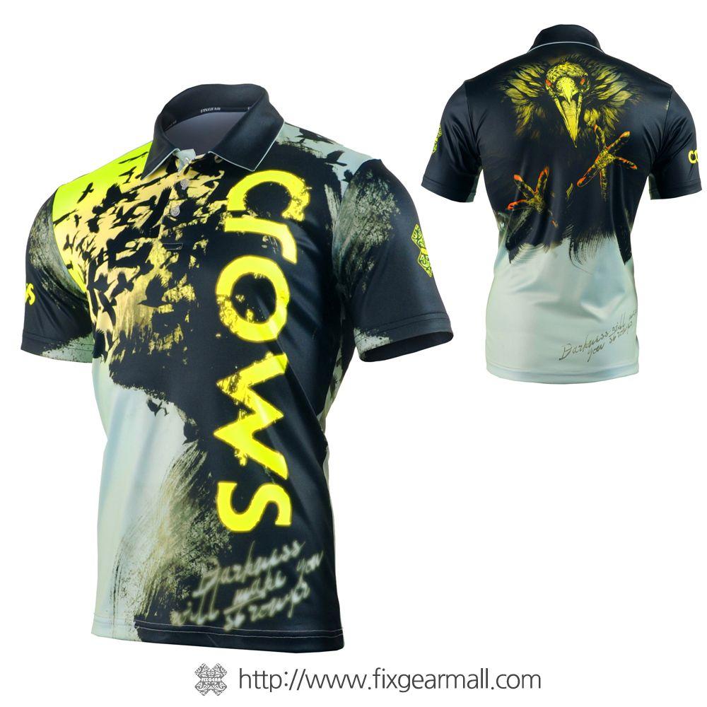 67cc9a978f FIXGEAR FPO-F80 Mens short sleeve Polo shirts | poster | Badminton ...
