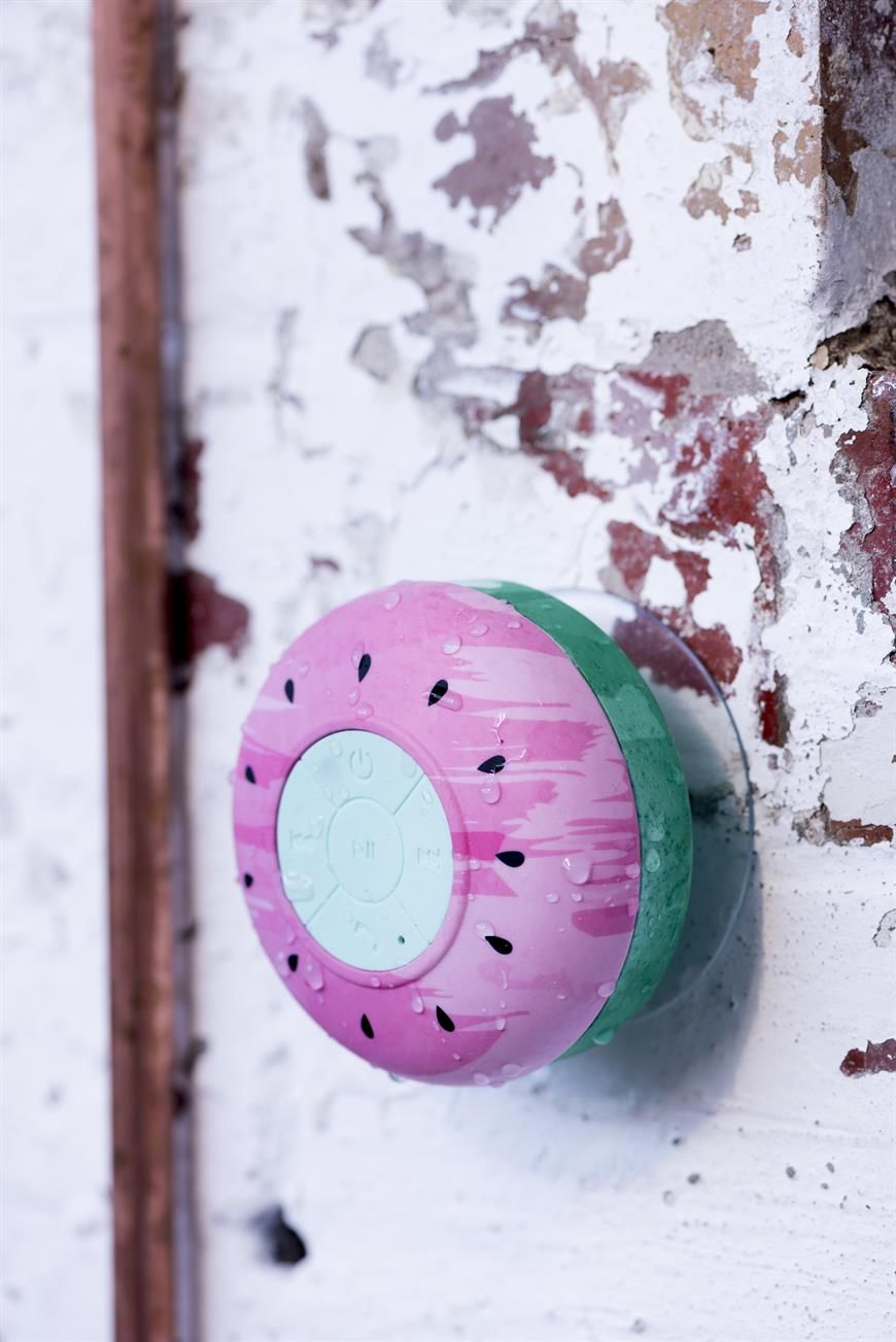 Sing Along To Your Favourite Tunes While Your In The Shower Br Using Wireless Technology Our Wat Shower Bluetooth Speaker Shower Speaker Cool Things To Buy
