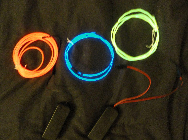 DIY El wire kits DIY el wire bra light up clothing | Holiday fun ...