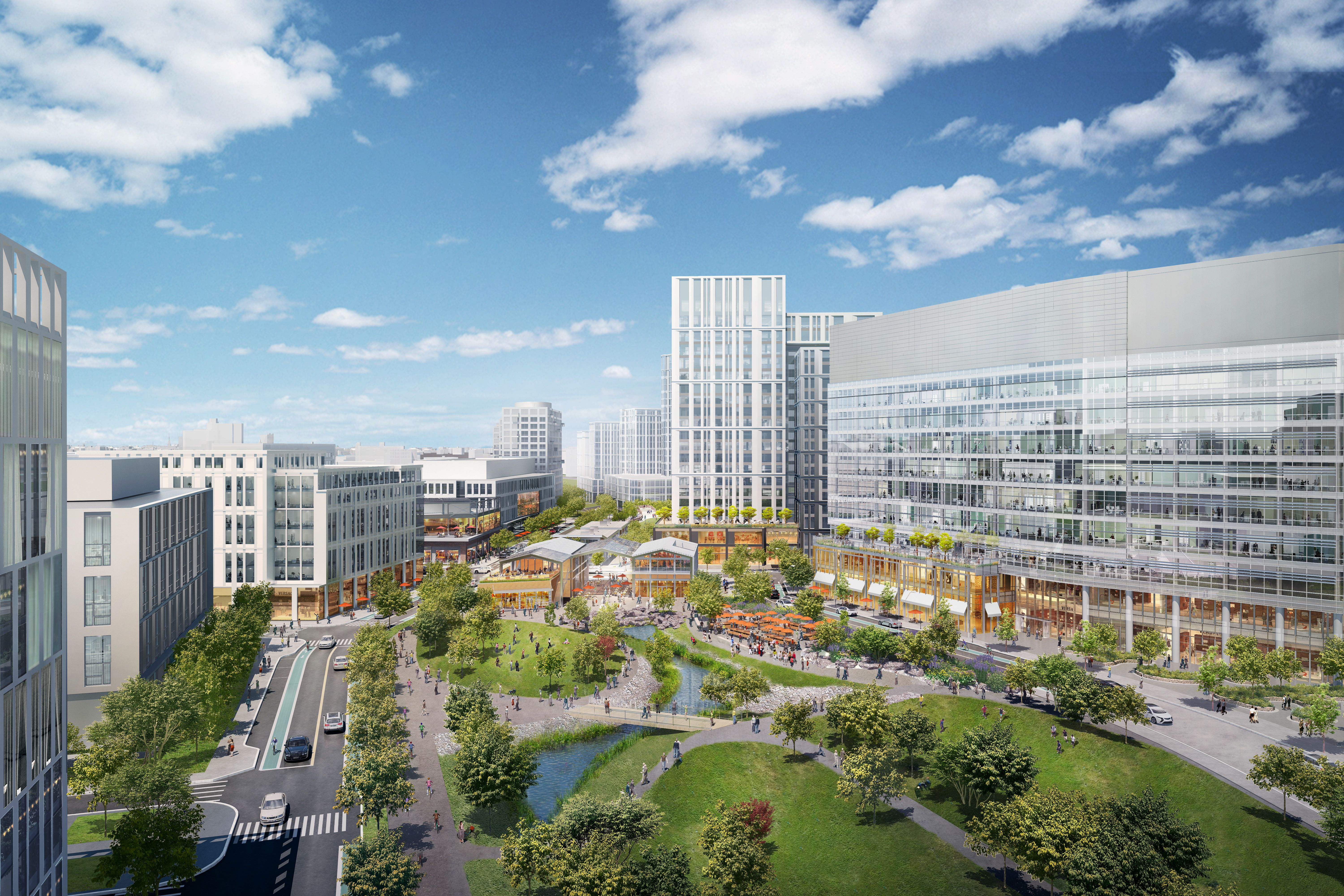 Cambridge Crossing It S The New Name For The 45 Acre Northpoint Mega Project Acre Northpoint San Francisco Skyline
