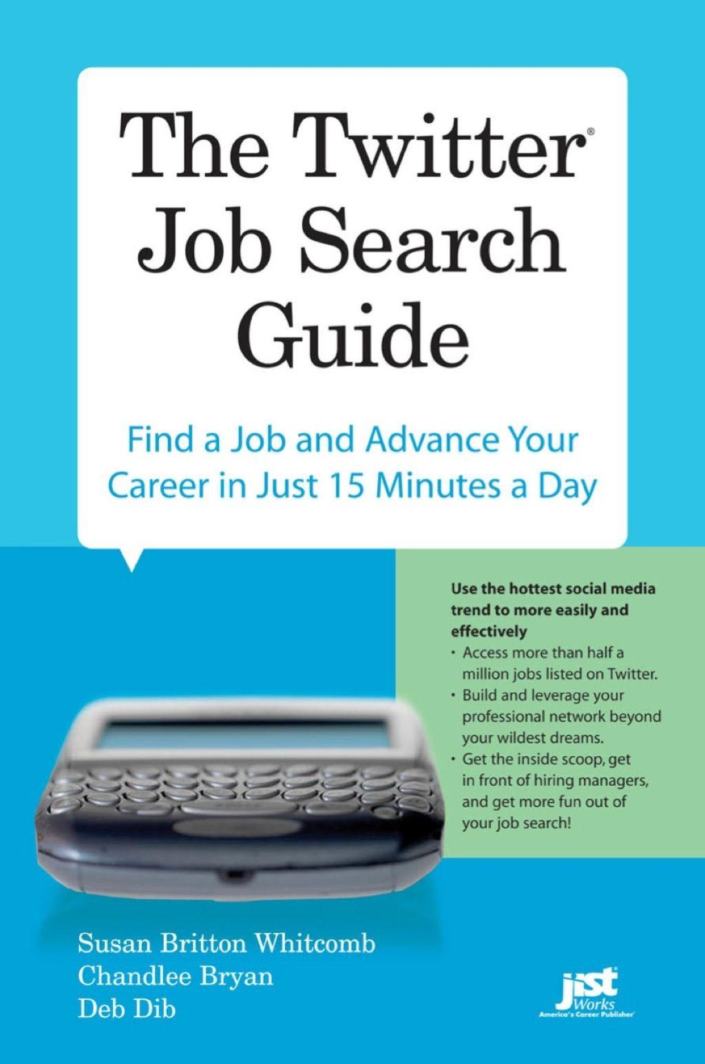 The Twitter Job Search Guide (eBook Rental) Twitter jobs