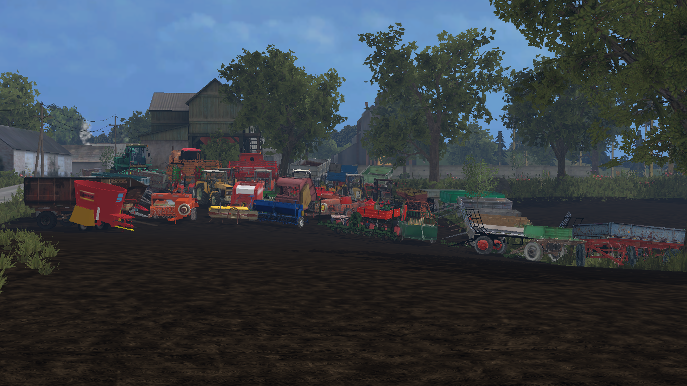 Mod Pack Polish Machines for FS15 - Farming simulator 2015