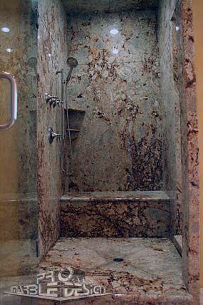 Love Full Slab Granite Showers