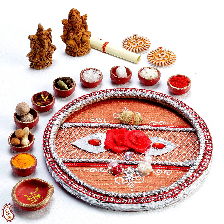 Diwali Pooja Thali | Diwali | Pinterest | Diwali pooja, Diwali and ... for diwali puja thali decoration ideas  555kxo