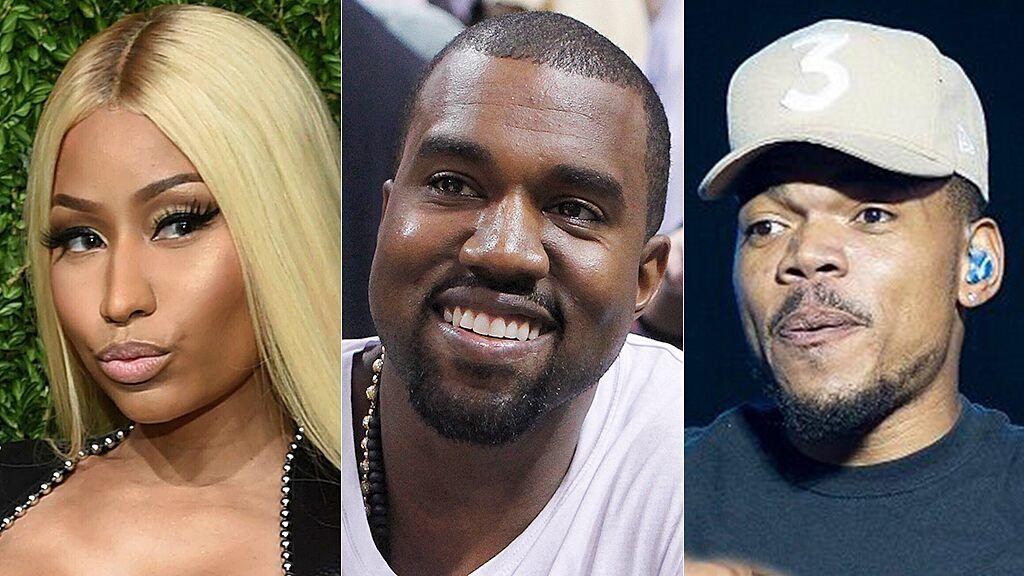 Kanye West Told Nicki Minaj He S Now A Born Again Christian Christian Rappers Chance The Rapper Kanye West