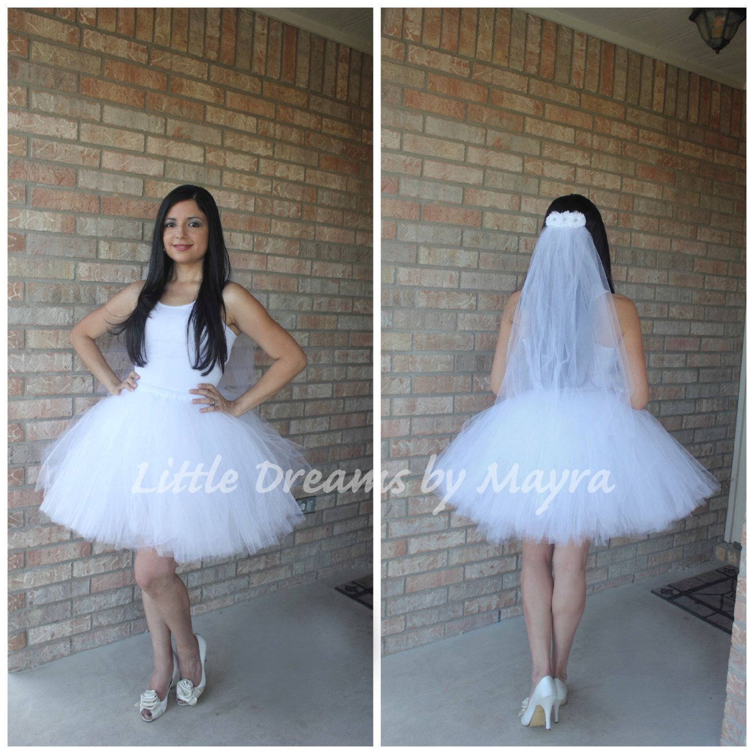 2daa5a83708be Bride bachelorette tutu skirt and veil, bridal tutu set, fun bachelorette  party decorations,