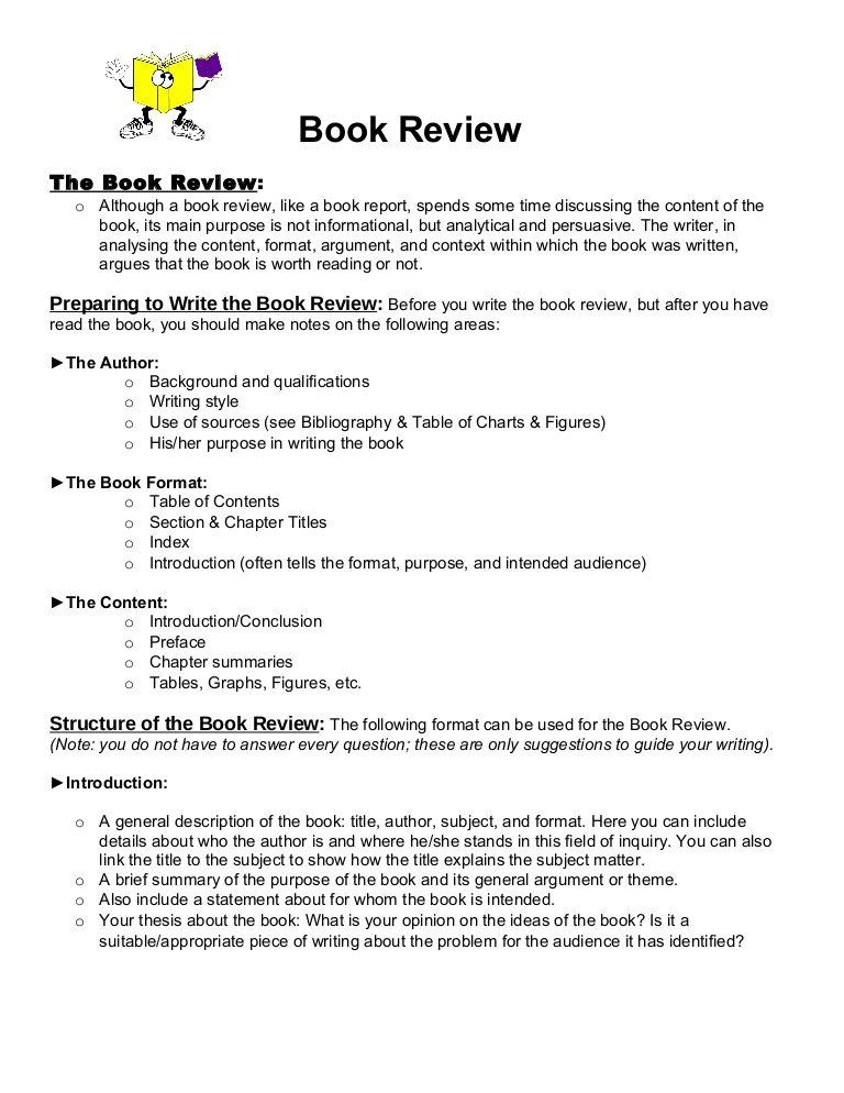 Book Analysi Format Sample Inspirational Review 1 Template Writing A Report Essay