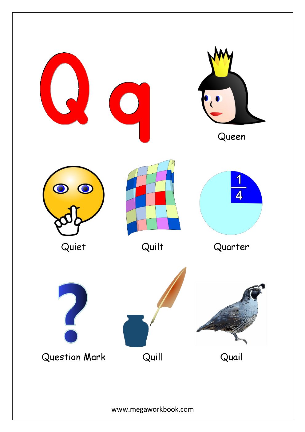 Things That Start With A, B, C & Each Letter Alphabet
