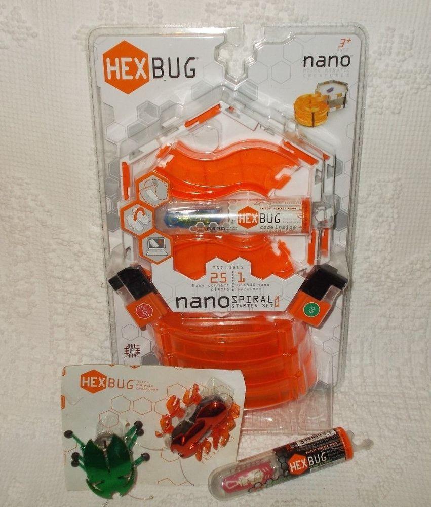 Hexbug Nano Glows in the Dark Starter Set