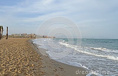 Winter On The Beach - Download From Over 28 Million High Quality Stock Photos, Images, Vectors. Sign up for FREE today. Image: 47196442