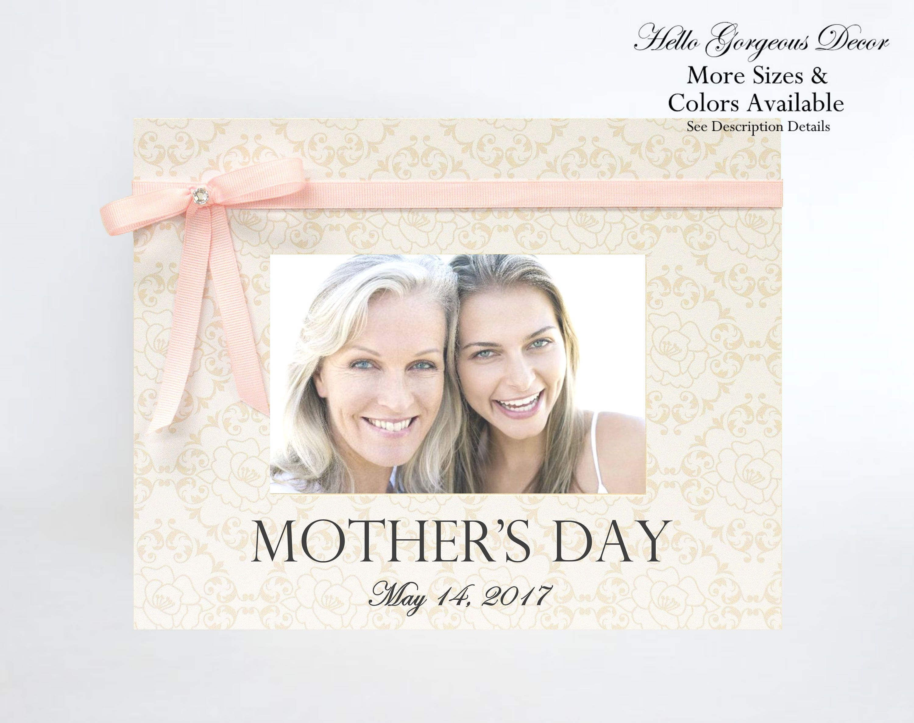 Mom Mother Picture Frame Gift To For Mothers Day Custom New From Husband Generations Photo By