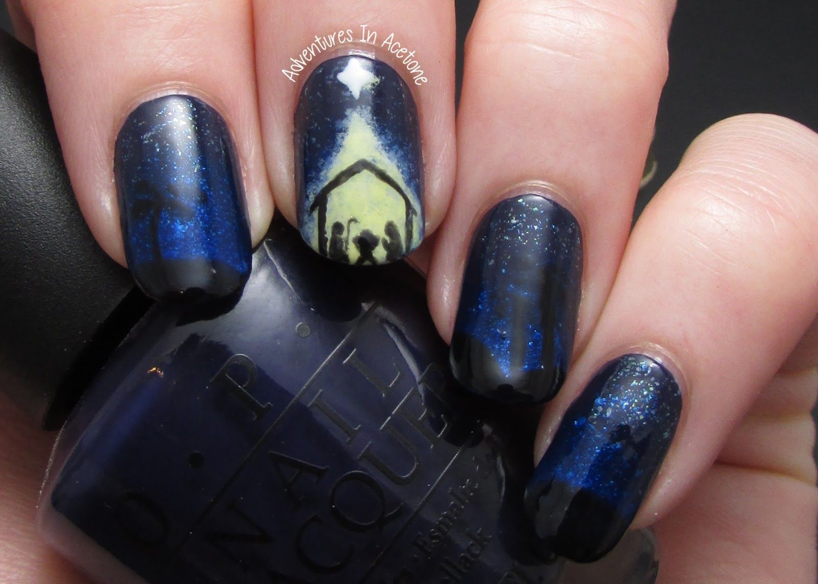 Adventures In Acetone: Christmas Nail Art Idea Round-up! | Inspo ...