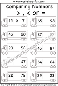 comparing numbers 2 worksheets comparing numbers comparing numbers comparing numbers. Black Bedroom Furniture Sets. Home Design Ideas