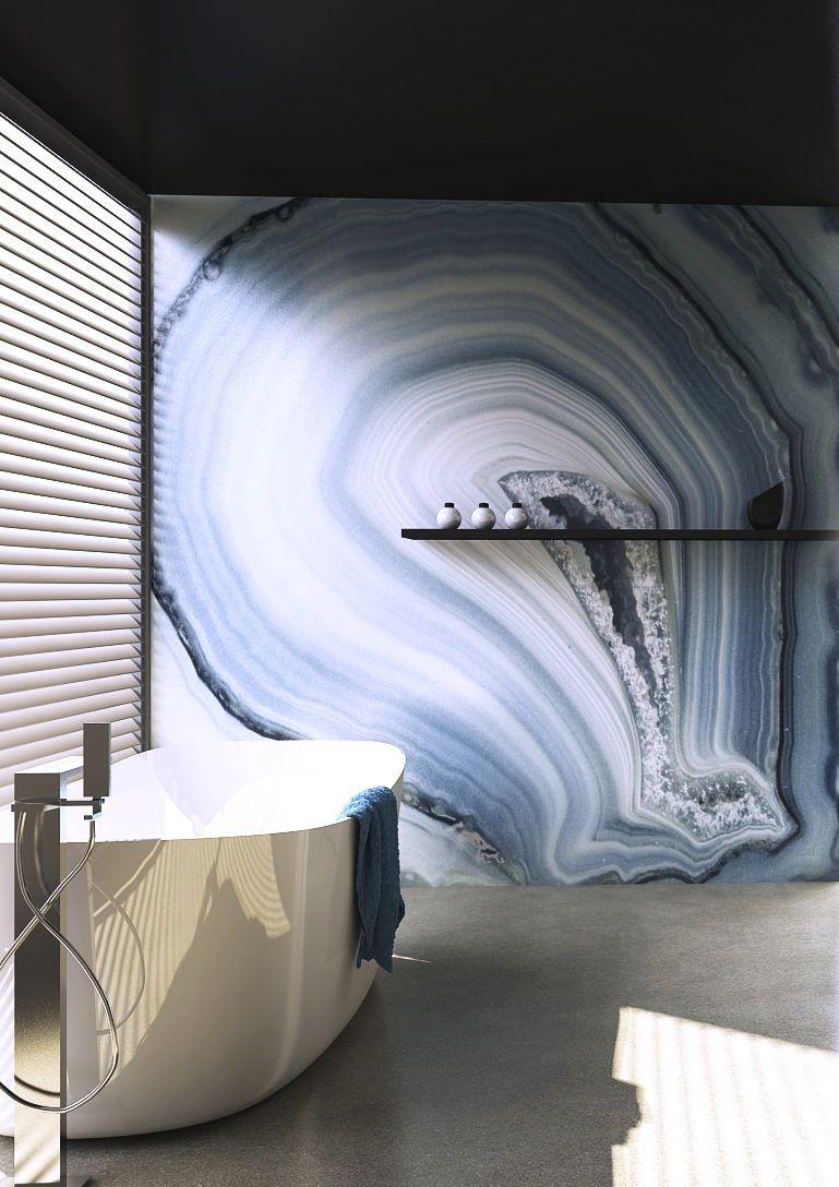 Celestine Agate Panel | Agates inspiration | Pinterest | Agate, Bath ...