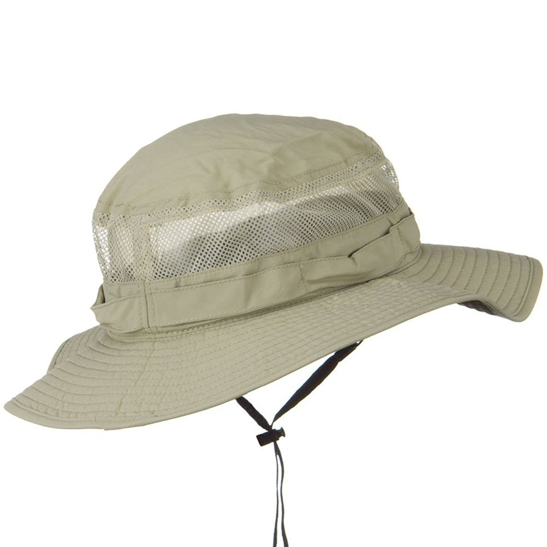 Uv 50 Side Mesh Talson Bucket Hat Khaki Cu11j5zpgmz Hats Hats For Men Khaki