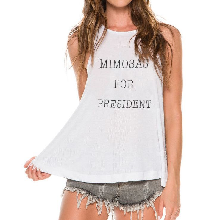 Mimosas for President Muscle Tee (FREE US SHIPPING)