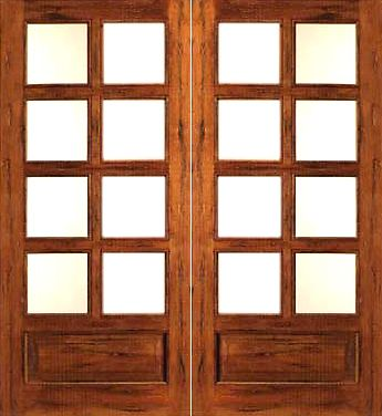 Prehung Slab Chamfer Sticking Insulated Low E Dual Double Glazed Tropical Hardwood Wood 3 4 Lite 8 Lit French Doors Interior French Doors French Door Shutters