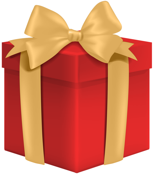 Red Gift Box Png Clip Art Image Red Gift Box Clip Art Art Images
